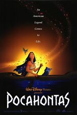 "Walt Disney's POCAHONTAS 1995 Original DS 2 Sided 27x40"" Movie Poster"