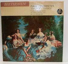 """BEETHOVEN PIANO CONCERTO N° 5 EMPEROR FRIEDRICH WÜHRER HOLLREISER 12"""" LP (e684)"""