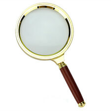 1Pc 90mm Handheld 10X Magnifier Magnifying Glass Loupe Reading Jewelry NEW