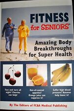 Fitness For Seniors FC&A Publishing New Hardcover Book.