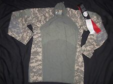 ACU MASSIF GEAR SHIRT COMBAT LARGE nwt MADE USA MILITARY ACU DIGITAL CAMO yw nst