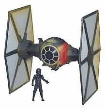 HASBRO STAR WARS E7 FIRST ORDER SPECIAL FORCES TIE FIGHTER + FIGUR SW EXKLUSIVE
