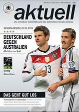 Länderspiel 25.03.2015 Deutschland - Australien, Poster Manuel Neuer