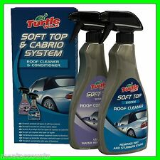 Turtle Wax Cabriolet Fabric Hood Cleaner and Preserver [FG7610] Soft Top