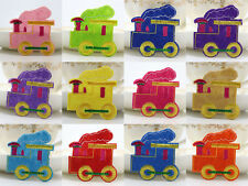 12pcs Hot Train Pattern Fabric Embroidery Iron Sewing On Patches Motif Appliqué