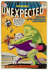 TALES OF THE UNEXPECTED #40 (DC 1959, fn 6.0) first Space Ranger - 50% off guide