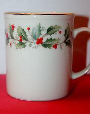 ROYAL GALLERY CHINA  HOLLY  COFFEE MUG     DISCONTINUED 1986-1988