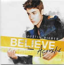 Believe Acoustic by Justin Bieber CD 2013 Island Label