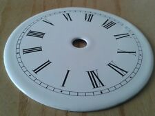 Enamel Clock Dial 80mm Roman numerals
