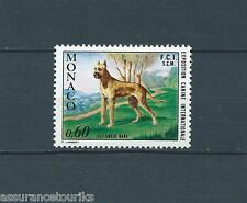 MONACO - CHIENS DOGUE ALLEMAND - 1972 YT 880 - TIMBRE NEUF** LUXE