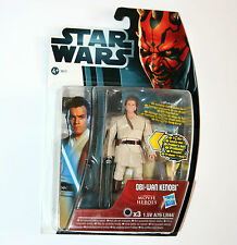 Star Wars MOVIE HEROES Figure - OBI-WAN KENOBI (MH16) with Light-Up Lightsaber