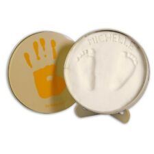 BABY HAND and FOOT PRINT KIT TIN Keepsake casting set Unusual New Baby Gift Idea