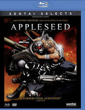 Appleseed (Blu-ray/DVD, 2015, 2-Disc Set)