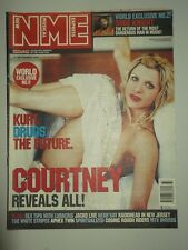 NME SEPTEMBER 15 2001 COURTNEY LOVE SUGE KNIGHT RADIOHEAD WHITE STRIPES