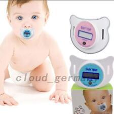 Thermometer Schnuller Schnullerthermometer Fieberthermometer Für Babys Neu