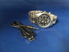 SC High & Tide 4GB Camera Watch, Spy Watch with Microphone SIlver Band