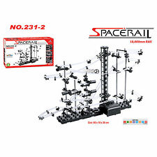 SpaceRail Level 2 10000mm Marble Roller Coaster With Steel Balls Spacewarp DIY