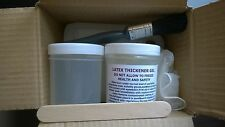 OUR NEW IMPROVED 1 LITRE LIQUID LATEX KIT/250ML THICKENER GEL,MIXING POT ETC