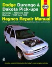 Dodge Durango '98'99 & Dakota '97'99 (Haynes Manuals) by Haynes Haynes