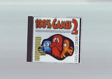 ALL THE BEST : 100% FREEWARE GAMES VOL 2 - PC GAME - FAST POST - VGC - RARE