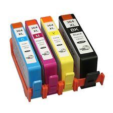 4 Ink Cartridge for HP 364XL Deskjet 3070A 3520 3522 3524 Officejet 4610 4620 T