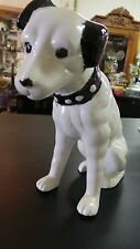 MID CENTURY JACK RUSSELL TERRIER ANIMAL BLACK & WHITE DOG PRECIOUS