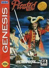 PIRATES GOLD - SEGA GENESIS GAME WITH CASE AND ARTWORK