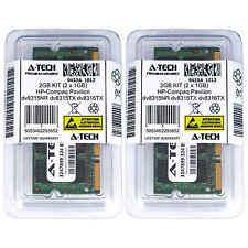 2GB KIT 2 x 1GB HP Compaq Pavilion dv8315NR dv8315TX dv8316TX Ram Memory