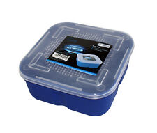 LARGE 1.5L BREATHABLE FISH FISHING BAIT BOX MAGGOTS STORAGE TUB ACCESSORY RY225