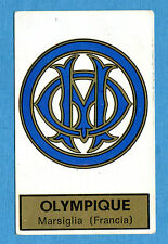 CALCIATORI PANINI 1971-72-Figurina-Sticker n. 102 - OLYMPIQUE SCUDETTO -Rec