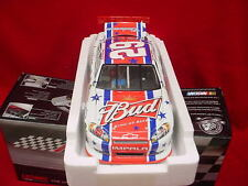 KEVIN HARVICK #29 BUDWEISER  4TH JULY CHEVY 201 RELEASE 1/24 SCALE
