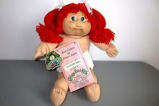 Cabbage Patch 1983 Red Pigtails Green Eyes Birth Cert  No Clothes DEBOXED Lot H2