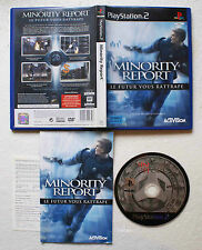 MINORITY REPORT sur Sony PLAYSTATION 2 PS2