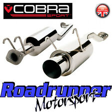 "HN14 Cobra Honda Civic Type R EP3 Exhaust System 2.5"" Stainless Cat Back 4"""