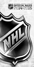 2014?2015 Official Rules of the NHL, National Hockey League, New Books