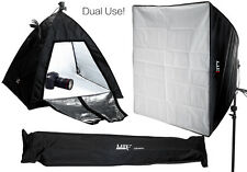 Dual-Use Still Life & Portrait Light Tent Cube / Continuous Lighting Softbox Kit