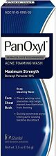 PanOxyl Foaming Acne Wash Maximum Strength 5.5 oz (Pack of 6)