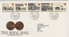 GB Stamps First Day Cover Bicentenary First Royal Mail Coach Run SHS Bull 1984