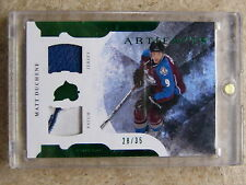 11-12 UD Artifacts Horizontal Jersey Patch #85 MATT DUCHENE /35