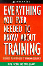 Everything You Ever Need to Know About Training by Kogan Page Ltd (Book, 1996)