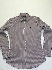 Ralph Lauren Ladies Custom Fit Striped Shirt S