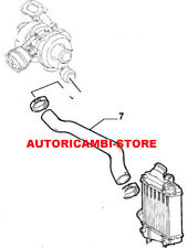 60680251 MANICOTTO DALLA TURBINA AL RADIATORE INTERCOOLER ALFA 156 1.9 JTD