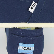 Toms Classic Canvas Navy 1002A07 Mens US size 10, UK 9