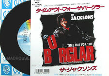 "MICHAEL JACKSON  7"" Jacksons Time Out For The Burglar JAPANESE PROMO vinyl"