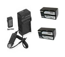 2X SB-LSM160 Batteries + Charger for Samsung VP-D351 VP-D352 VP-D353 VP-D354