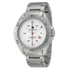 Tommy Hilfiger White Dial Stainless Steel Mens Watch 1791134