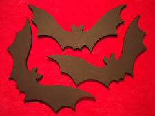 Wooden Bat Wall Decor Hanging Vampire Gothic Halloween