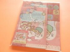 Little Twin Stars Letter Set - Floral Forest - 12 Sheets / 6 Envelopes - New!
