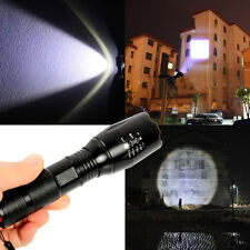 2500 Lumen 5 Modes Zoomable T6 LED 18650 Flashlight Focus Torch Lamp Adjust
