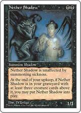 NETHER SHADOW Fifth Edition MTG Black Creature — Spirit RARE